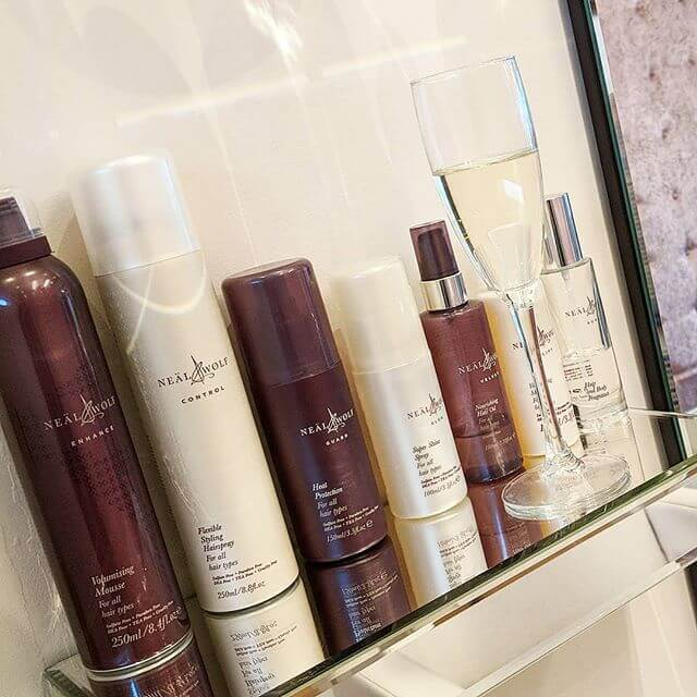 neal and wolf slavic and russian hair extension aftercare range of products
