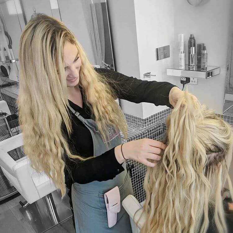 hair extension maintenance at the hair alchemist yorkshire