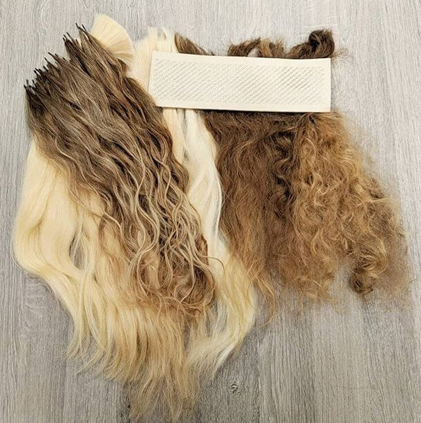 custom made textured hair extensions