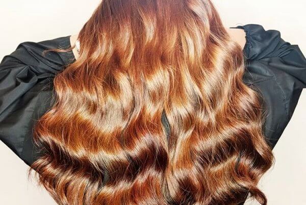 luxury auburn russian hair extensions